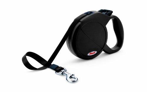 flexi Hundeleine Classic Compact 2, Länge 5m bis 25 kg, schwarz
