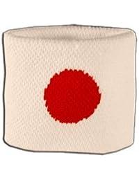 Digni® Poignet éponge avec drapeau Japon