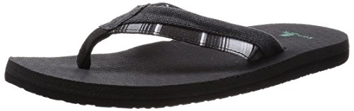Sanuk Beer Cozy Light Funk Sandals Noir