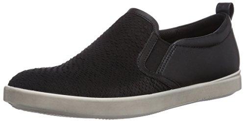 ECCO Aimee, Sneaker a Collo Basso Donna Nero (Schwarz (Black/Black Clodine/Feather58992))