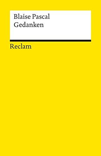Universal-Bibliothek Nr. 1622: Gedanken: Über die Religion und einige andere Themen
