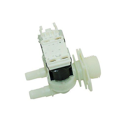 Spares2go Doppel-Magnetventil für Bosch-Waschmaschine, Einlassventil