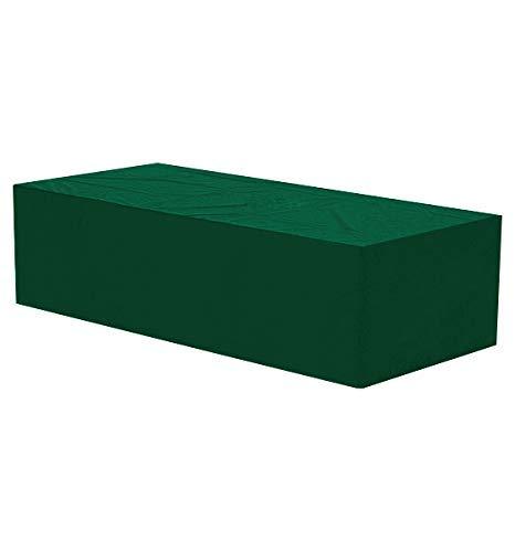 WOLTU GZ1199gn Housse de Protection pour mobilier de Jardin Imperméable,Housse de Protection résistante aux déchirures pour Le Banc de Jardin 144x58x93 cm, Vert