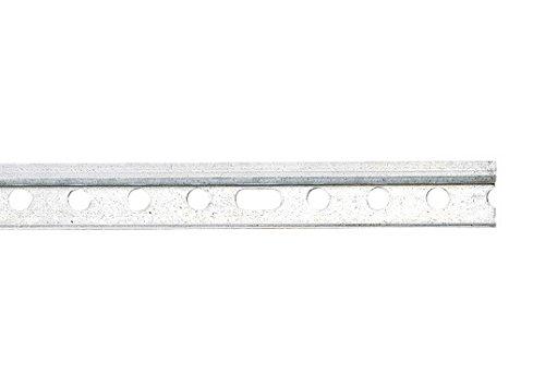 5 Stück je 118 cm Montageschienen Aufhängeschienen Schienen für Hängeschränke, verzinkt -