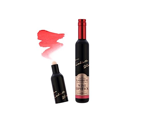 CHATEAU LABIOTTE Wine Lipstick Melting (3.7g) 2016 Brand New (PK01 : NOIR PINK) by LaBiotte