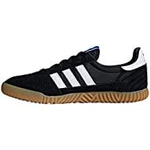 adidas Originals Indoor Super, Core Black-Footwear White-Gum, 6
