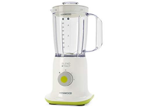 Kenwood BL237WG Batidora de vaso 1L 350W Blanco - Licuadora (1 L, Batidora de vaso, Blanco, De plástico, Acero inoxidable, De plástico)