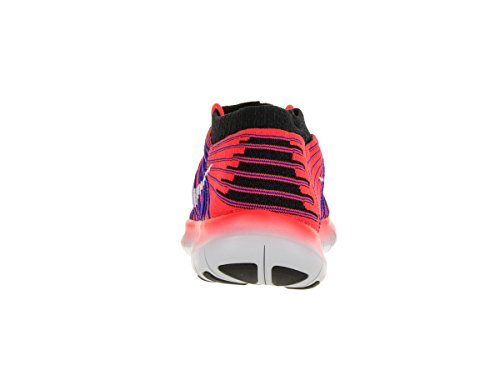 Nike Free Rn Motion Flyknit, Chaussures de Running Entrainement Homme Bright Crimson/White/Racer Blue/Black