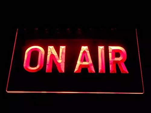 On Air Bombilla LED Cartel Cartel Cargar Reklame Neon Neon schid Radio DJ