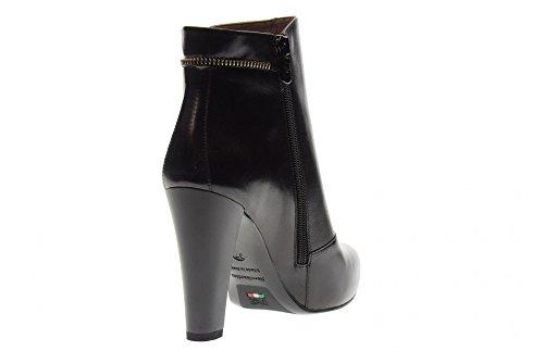 Avec Nero Talon Chaussures Giardini 100 Bottines A719622de Femme qHHIBw
