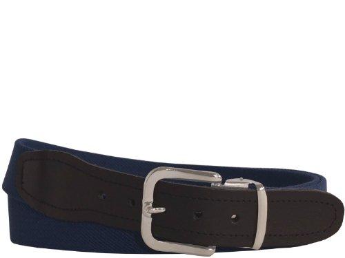 Viel Elastischer (Hochwertiger Elastik- Stoffgürtel von Xeira® - Verfügbar in vielen Farben / Muster und Größen bis XXXL 160cm - Made in Germany - Schwarz / Rot / Braun / Grau / Weiß / Dunkel Blau (80, Dunkel Blau))