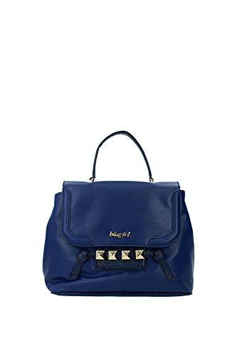 handtasche-blugirl-blumarine-damen-stoff-blau-schwarz-und-gold-621104633-blau-16x25x32-cm
