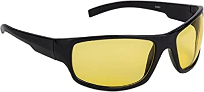 NuVew Day/Night Vision Driving Rectangular Sunglasses (Yellow Lens) (NW-RX861-23-YLW543)