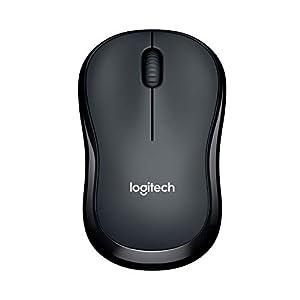 Logitech M220 Silent Belaidės Beidhändig Geräuchlose Maus (Optischer Laser, Ohne Klickgeräusche, USB für Windows/Mac/Chrome OS/Linux)