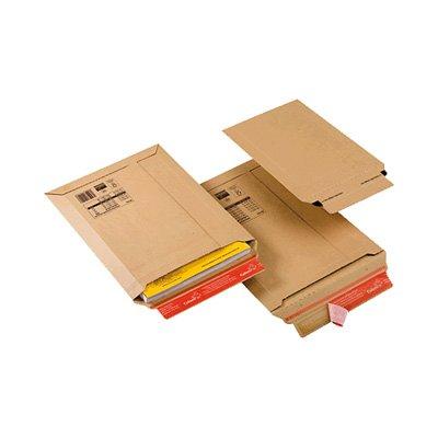 Colompac 225327 - Sobre de expedición, A4, cartón, 235 x 340 x 35 mm, 1 unidad