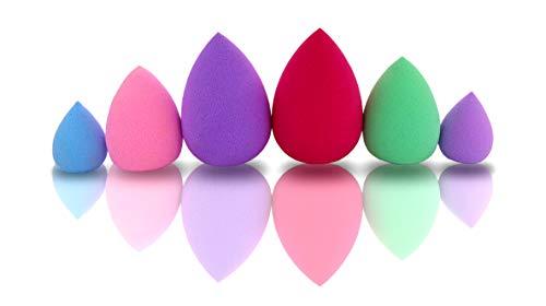 Beauty Blender Plus Maquillage Femme Fond De Teint Sananas Eponge Pinceau Make Up Couvrant Mini éponges Magique Latex Pinceaux Maquillages Base Accessoire Creme Visage Poudre Yeux 6 Lot Sponge Makeup
