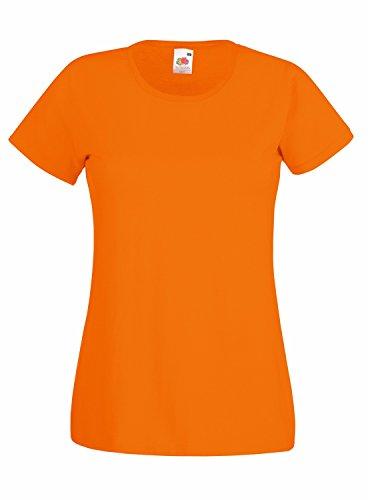 F288N Lady-Fit Valueweight T Orange