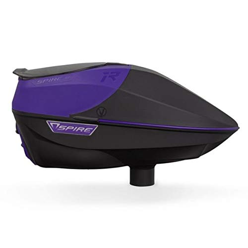 Virtue Spire Electronic Paintball Chargeuses/Hoppers, IR Purple/Black, Spire