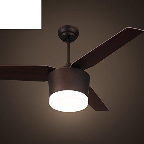 Lampadario ventilatore/ ristorante americano ventilatore luce/Retro salone camera da letto
