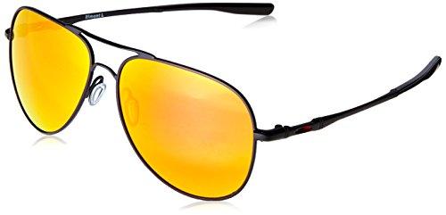 Oakley Unisex-Erwachsene Elmont M & L 411913 Sonnenbrille, Schwarz (Negro), 60