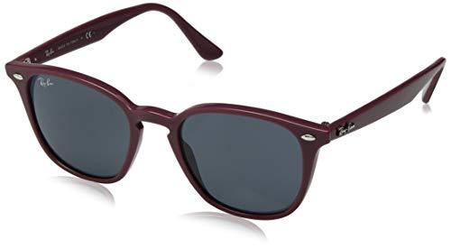 Ray-Ban Unisex-Erwachsene 0RB4258 Sonnenbrille, Mehrfarbig (Bordeaux), 50