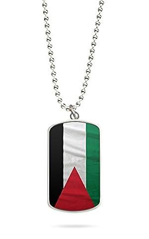 Kette Dog Tag Palästina Gaza 1