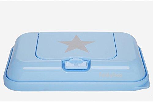 Funkybox TO GO Feuchttücherbox blau Stern