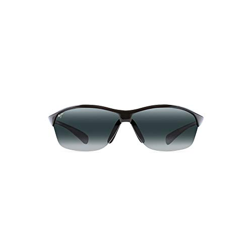 9fccb09e5925a Maui Jim 426-02 Black Hot Sands Wrap Sunglasses Polarised Cricket