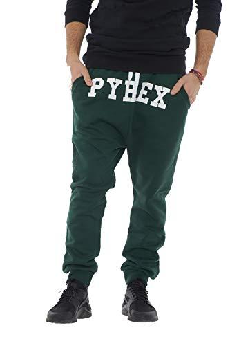 Pyrex. Hosen Männer mit niedrigem Grün XS-Pferd (Pyrex Für Hosen Männer)