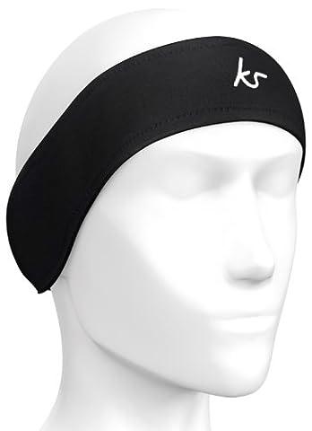 KitSound Audio Stirnband für Fitness und Sport Schweißfest mit Integrierten