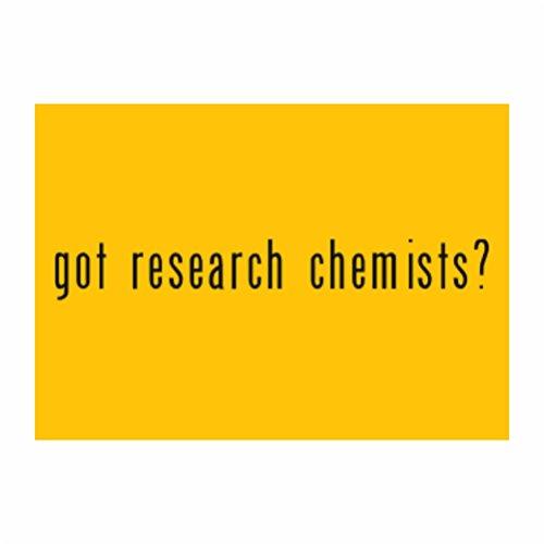 Teeburon Got Research Chemist? Sticker Pacchetto di 4