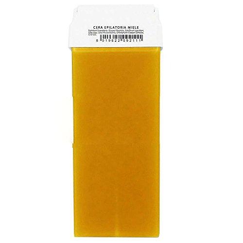Takestop® set 2 pezzi ricarica cera depilatoria liposolubile miele 100 ml per rullo scaldarullo roll depilazione ceretta caldo ricariche