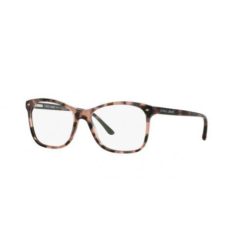 Giorgio Armani Für Frau 7075 Pink Tortoise Kunststoffgestell Brillen, 52mm