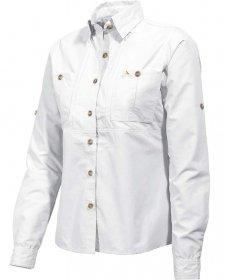 ViaVesto Damen Outdoorbluse Senhora Eanes Weiss (100) 38 - Reiten-shirt Coolmax