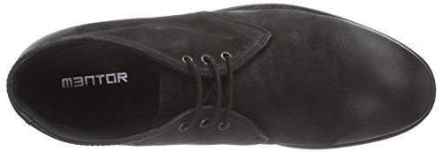 Mentor Mentor Desert Boot, Desert boots homme Noir (black Washed Leather)