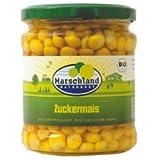 Produkt-Bild: Marschland Zuckermais im Glas (330 g) - Bio