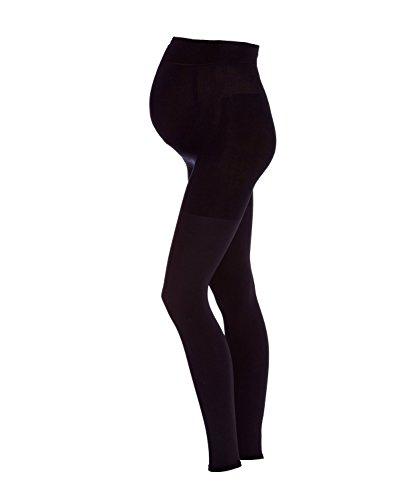 FALKE Damen Feinstricklegging 9 Months 80 Den, Schwarz (Black 3009), 38 (Herstellergröße: 38-40)