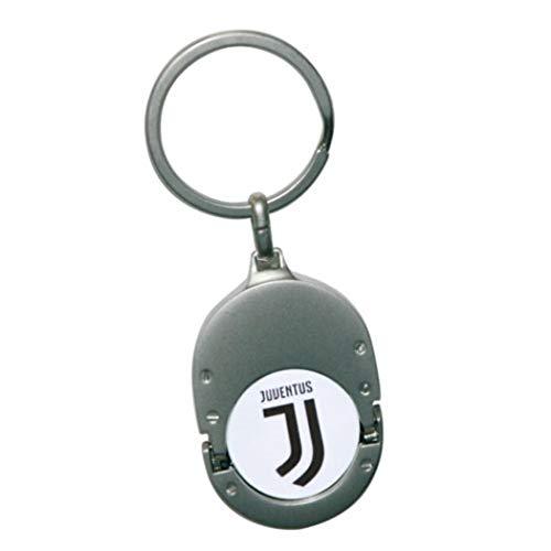 Juventus Turin Schlüsselanhänger Einkaufswagenchip