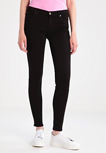 7 for all mankind Jeans Skinny Fit Damen Hose Gr 27schwarz