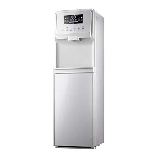 Kühler & Wasserspender Wasserkühler Büro-Heißwasserspender vertikale Touchscreen-Teebar unter dem versteckten Eimer (Color : Weiß, Size : 31 * 33.8 * 103.5cm)