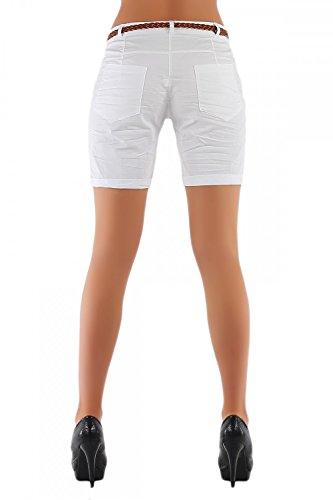 Danaest - Short - Chino - Femme Blanc - blanc