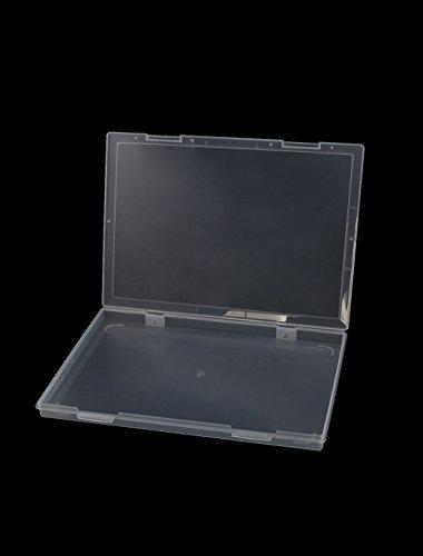 Sourcingmap Kunststoff A4Datei Papier Elektronische Komponenten Aufbewahrungskoffer Box 30,5x 22,9cm - 2