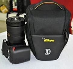 Shopee Camera Travel Shoulder Bag For Nikon D70'S D80 D90 D3000 D3200 D40 D5000