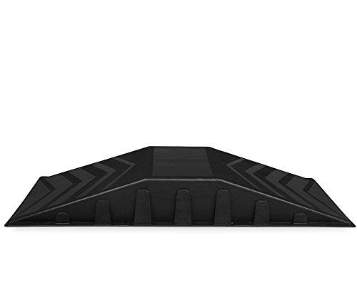 Ondis24 Rampe für Skateboard Waveboard Inliner Rollschuhe BMX Skaterrampe 113 cm