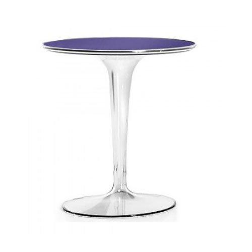 Kartell 8600V4 - Tavolino Tip Top, colore viola