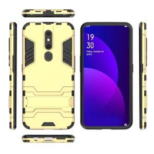 henxingwu Case Compatible with Oppo F11 Pro Case, Hybrid Shockproof Slim Cover Fit Scratch Resistant Rubber Bumper Back and Protective for Case Compatible with Oppo F11 Pro - -