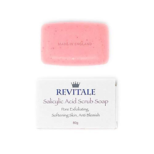 Salicylsäure Seife (Salicylsäure Scrub Soap Pore Peeling, Akne bekämpfen, Haut weich werden, Anti-Blemish, entfernt Warzen)