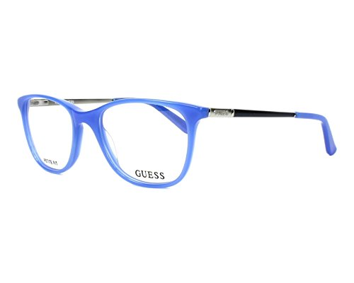 Montures Optiques Guess GU2566 C49 084 (shiny light blue   ) 3ae98fe97e8f