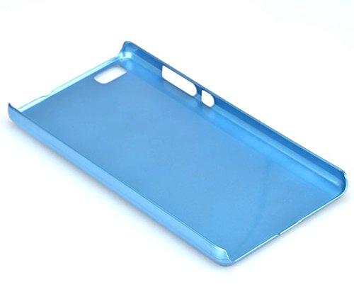 Vandot 1X Ultra-Mince Ultra-Light Flip Livre Design Housse Sac Coque Etui Accessoires Pour Huawei P8 Lite Bleu TPU Silicone transparent Case Cover Resistant aux chocs Touch Screen Hull +1X Stylet Bleu