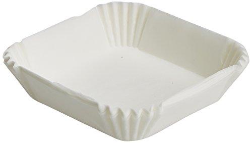 neoLab 1-1364 Wägeschalen, 47,6 mm x 47,6 mm x 14,2 mm, Weiß (500-er Pack)